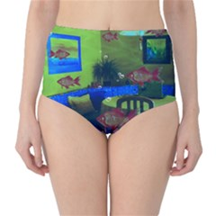 Natural habitat High-Waist Bikini Bottoms
