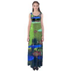 Natural Habitat Empire Waist Maxi Dress
