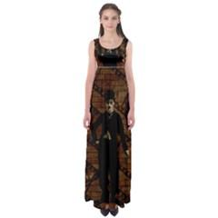 Charlie Chaplin  Empire Waist Maxi Dress