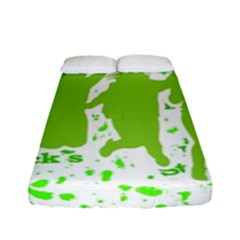 Saint Patrick Motif Fitted Sheet (Full/ Double Size)