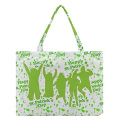 Saint Patrick Motif Medium Tote Bag