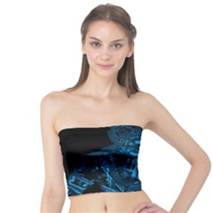 Warrior - Blue Tube Top