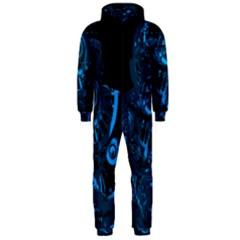 Warrior - Blue Hooded Jumpsuit (Men)