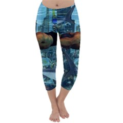 Urban swimmers   Capri Winter Leggings