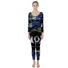 Mother Earth  Long Sleeve Catsuit