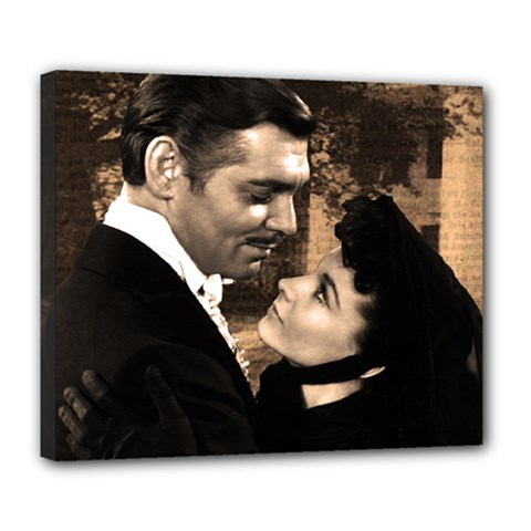 Gone with the Wind Deluxe Canvas 24  x 20