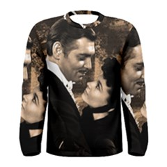Gone with the Wind Men s Long Sleeve Tee