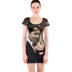 Gone with the Wind Short Sleeve Bodycon Dress
