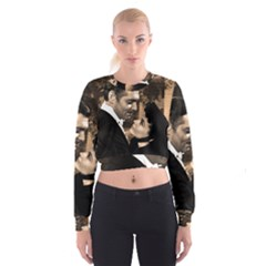 Gone with the Wind Women s Cropped Sweatshirt
