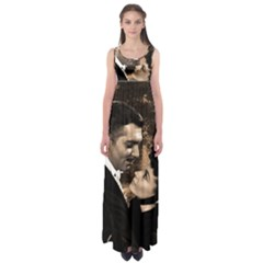 Gone with the Wind Empire Waist Maxi Dress