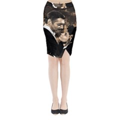 Gone with the Wind Midi Wrap Pencil Skirt