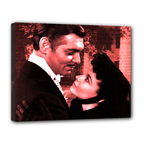 Gone with the Wind Canvas 14  x 11