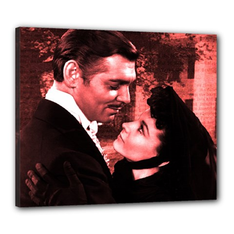 Gone with the Wind Canvas 24  x 20