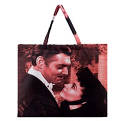 Gone with the Wind Zipper Large Tote Bag