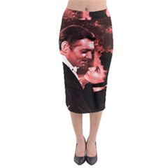 Gone with the Wind Midi Pencil Skirt