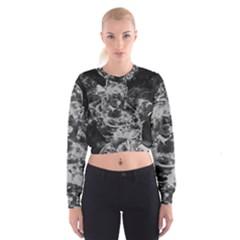 Angel Women s Cropped Sweatshirt