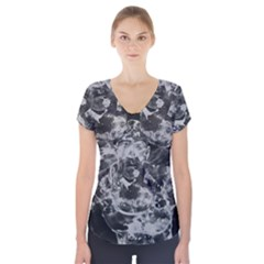 Angel Short Sleeve Front Detail Top