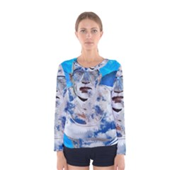 Swimming angel Women s Long Sleeve Tee