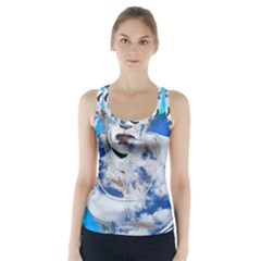 Swimming angel Racer Back Sports Top
