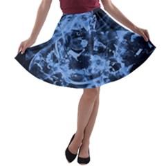 Blue angel A-line Skater Skirt