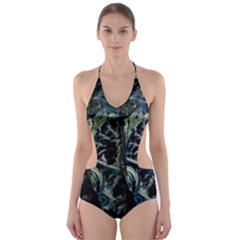 Cyber kid Cut-Out One Piece Swimsuit
