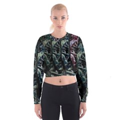 Cyber kid Women s Cropped Sweatshirt