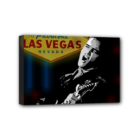 Elvis Presley - Las Vegas  Mini Canvas 6  x 4