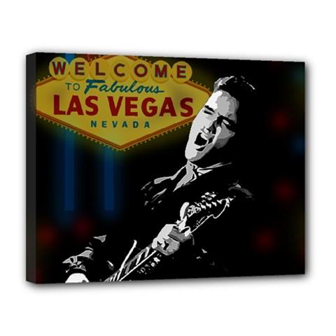 Elvis Presley - Las Vegas  Canvas 14  x 11