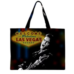 Elvis Presley - Las Vegas  Large Tote Bag