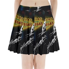 Elvis Presley - Las Vegas  Pleated Mini Skirt