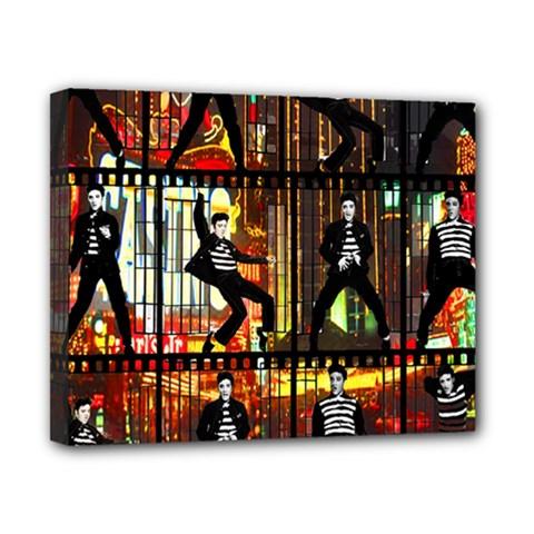 Elvis Presley - Las Vegas  Canvas 10  x 8