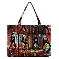 Elvis Presley - Las Vegas  Medium Zipper Tote Bag