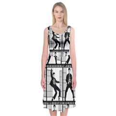 Elvis Presley Midi Sleeveless Dress