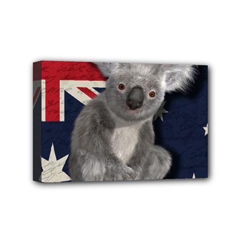 Australia  Mini Canvas 6  x 4