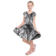 Gray girl  Kids  Short Sleeve Dress