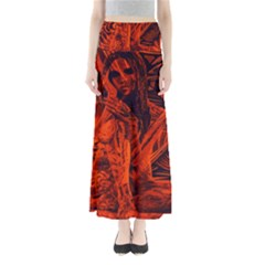 Red girl Maxi Skirts