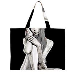 Stone girl Large Tote Bag