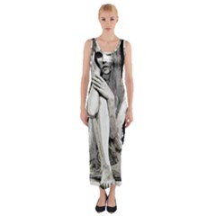 Stone girl Fitted Maxi Dress