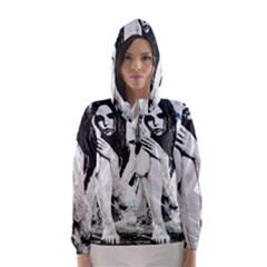 Angel Hooded Wind Breaker (Women)