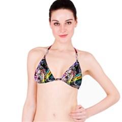 Graffiti girl Bikini Top
