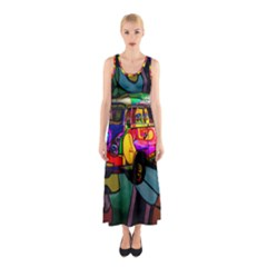 Hippie van  Sleeveless Maxi Dress