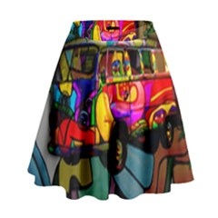 Hippie van  High Waist Skirt