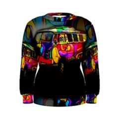 Hippie van  Women s Sweatshirt
