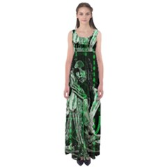 Cyber angel Empire Waist Maxi Dress