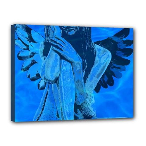 Underwater angel Canvas 16  x 12
