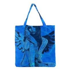 Underwater angel Grocery Tote Bag