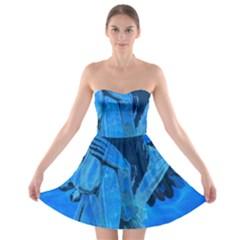 Underwater angel Strapless Bra Top Dress