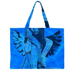 Underwater angel Large Tote Bag
