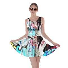 Graffiti angel Skater Dress