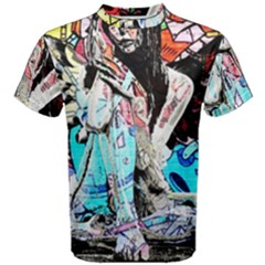 Graffiti Angel Men s Cotton Tee
